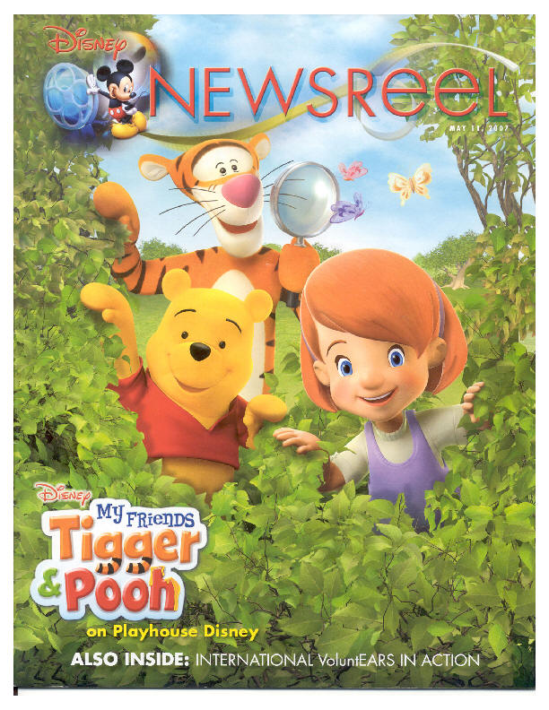 Disney Newsreel Article May, 2007
